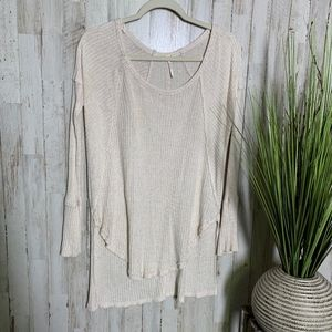 Free people Hi-Lo Shirt-Size XS